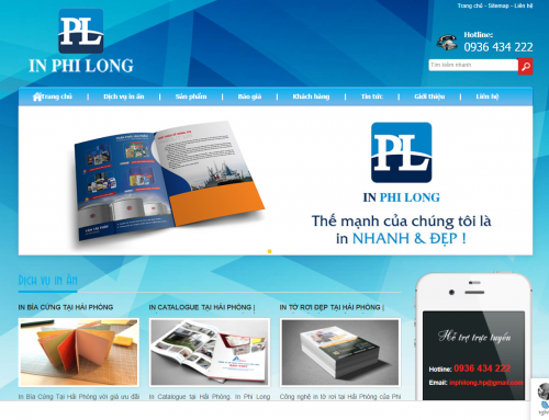Thiet ke Web in Phi Long